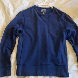 J Crew vintage fleece sweater men's small